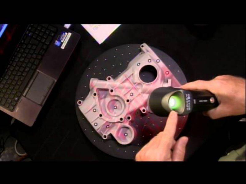 Фотография 3D сканера Creaform Handyscan 300/700 (3)