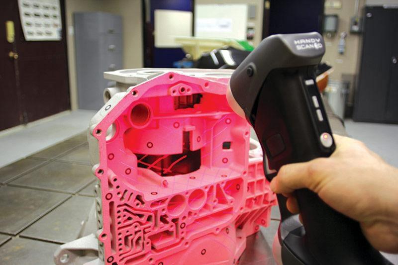 Фото 3D сканера Creaform Handyscan 300/700 (6)