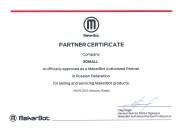 Сертификат 3dmall makerbot