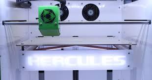 ото 3D принтер Hercules Strong 1