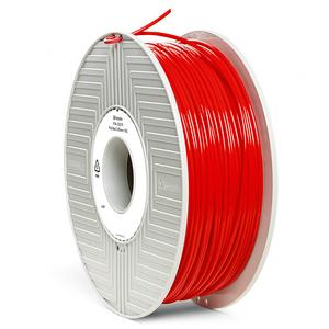 Фото нить для 3D-принтера PLA-волокно Verbatim 2.85 мм, 1 кг Красный