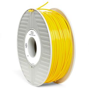 Фото нить для 3D-принтера PLA-волокно Verbatim 2.85 мм, 1 кг Желтый