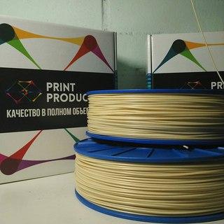 Фото нить для 3D-принтера ABS M6 пластик PrintProduct телесный