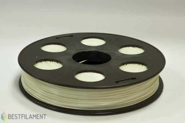 Фото нить для 3D-принтера Белый ABS пластик Bestfilament 0.5 кг, 1.75 мм