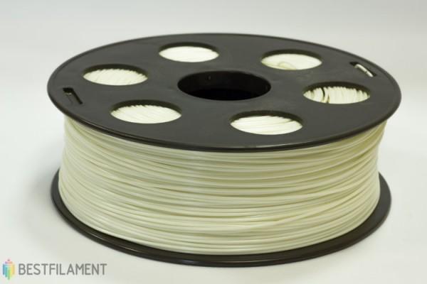 Фото нить для 3D-принтера Белый ABS пластик Bestfilament 1 кг, 1.75 мм