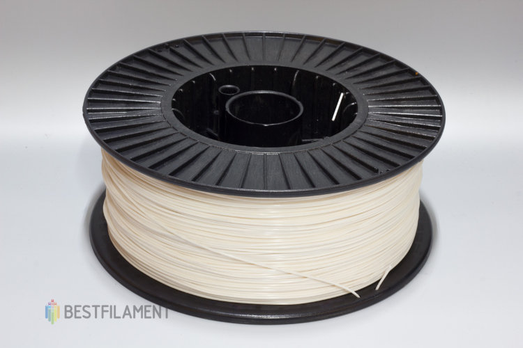 Фото нить для 3D-принтера Белый ABS пластик Bestfilament 2.5 кг, 1.75 мм