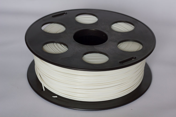Фото нить для 3D-принтера Белый PLA пластик Bestfilament 1 кг, 2.85 мм