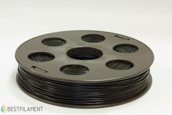 Фото нить для 3D-принтера Черный ABS пластик Bestfilament 0.5 кг, 1.75 мм