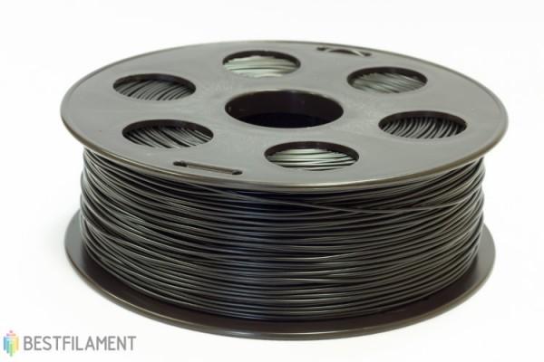 Фото нить для 3D-принтера Черный ABS пластик Bestfilament 1 кг, 1.75 мм