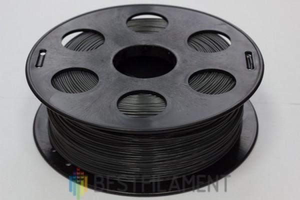 Фото нить для 3D-принтера Черный PLA пластик Bestfilament 1 кг, 1.75 мм