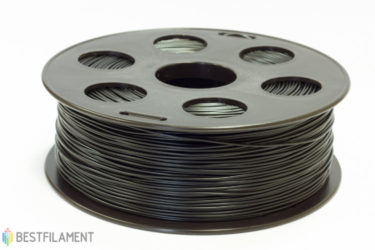 Фото нить для 3D-принтера Черный PLA пластик Bestfilament 1 кг, 2.85 мм