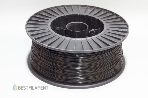 Фото нить для 3D-принтера Черный PLA пластик Bestfilament 2.5 кг, 1.75 мм