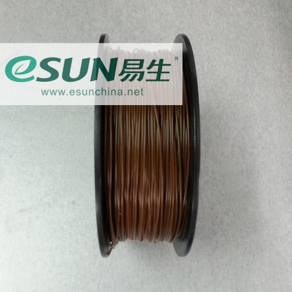 Фото нить для 3D-принтера eSUN 3D FILAMENT ABS BROWN(CHOCOLATE) 1.75 мм