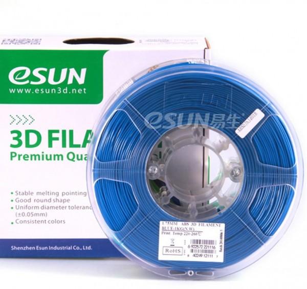 Фото нить для 33D-принтера eSUN 3D FILAMENT PLA BLUE 3.00 мм