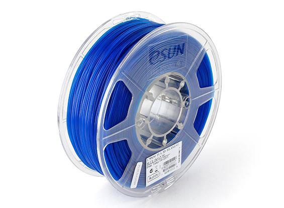 Фото нить для 3D-принтера eSUN 3D FILAMENT PLA BLUE 3.00 мм