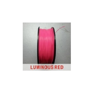Фото нить для 3D-принтера eSUN 3D FILAMENT PLA LUMINOUS RED 3.00 мм