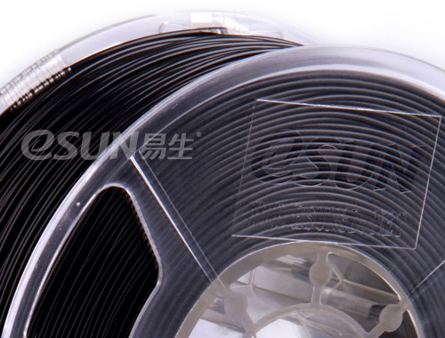 Фото нить для 3D-принтера eSUN 3D Optimized ABS+ Filament BLACK 1.75 мм