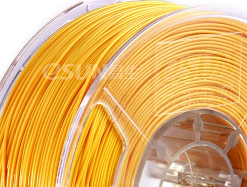 Фото нить для 3D-принтера eSUN 3D Optimized ABS+ Filament GOLD 1.75 мм