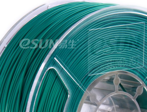 Фото нить для 3D-принтера eSUN 3D Optimized ABS+ Filament GREEN 3.00 мм