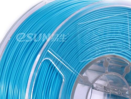 Фото нить для 3D-принтера eSUN 3D Optimized ABS+ Filament LIGHT BLUE 3.00 мм