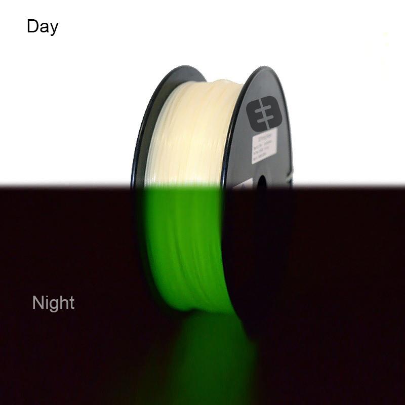 Фото нить для 3D-принтера eSUN 3D Optimized ABS+ Filament LUMINOUS GREEN 1.75 мм