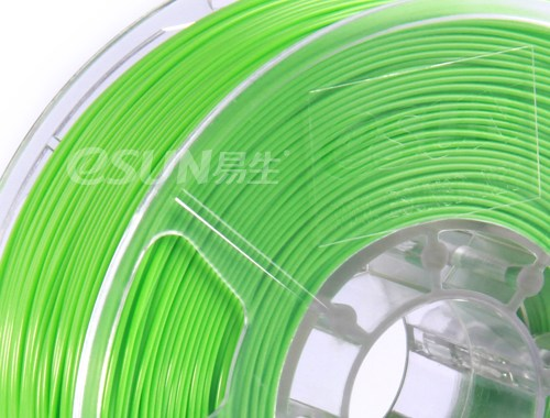 Фото нить для 3D-принтера eSUN 3D Optimized ABS+ Filament PEAK GREEN 1.75 мм