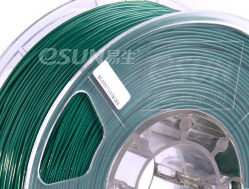 Фото нить для 3D-принтера eSUN 3D Optimized ABS+ Filament PINE GREEN 1.75 мм