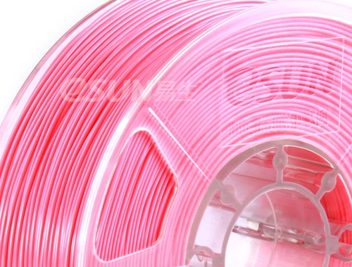 Фото нить для 3D-принтера eSUN 3D Optimized ABS+ Filament PINK 1.75 мм