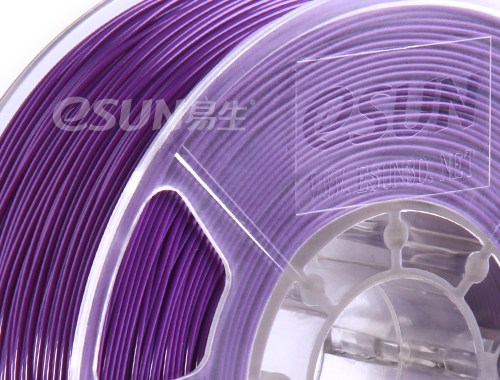 Фото нить для 3D-принтера eSUN 3D Optimized ABS+ Filament PURPLE 3.00 мм