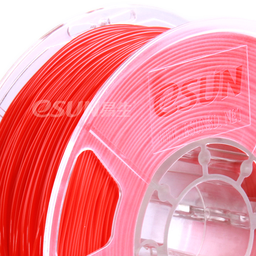Фото нить для 3D-принтера eSUN 3D Optimized ABS+ Filament RED 3.00 мм