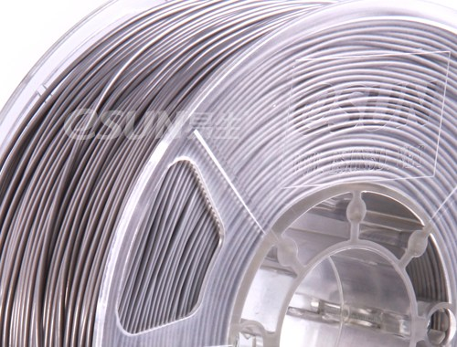 Фото нить для 3D-принтера eSUN 3D Optimized ABS+ Filament SILVER 3.00 мм
