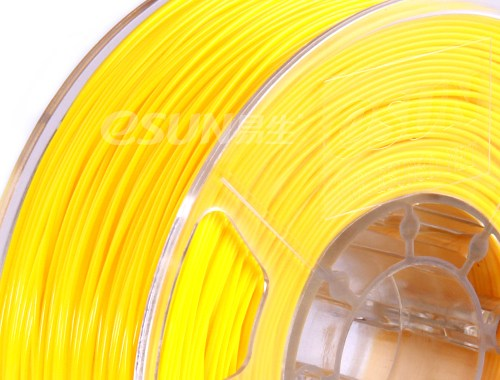Фото нить для 3D-принтера eSUN 3D Optimized ABS+ Filament YELLOW 1.75 мм