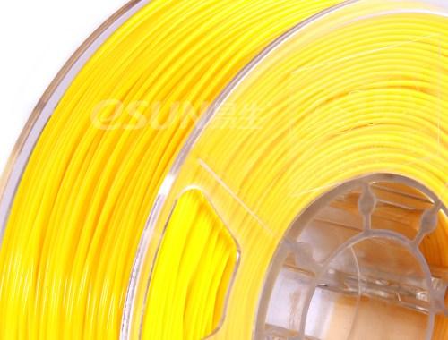 Фото нить для 3D-принтера eSUN 3D Optimized ABS+ Filament YELLOW 3.00 мм