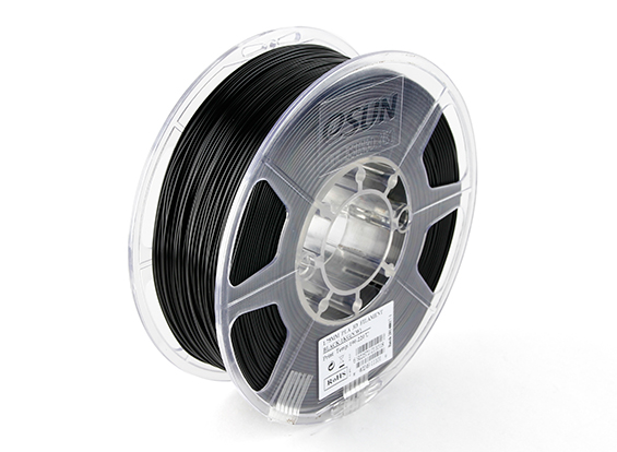 Фото нить для 3D-принтера eSUN 3D Optimized PLA+ Filament Black 1.75 мм