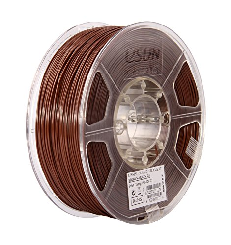 Фото нить для 3D-принтера eSUN 3D Optimized PLA+ Filament Brown 1.75 мм
