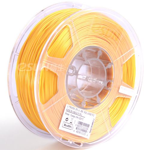Фото нить для 3D-принтера eSUN 3D Optimized PLA+ Filament Gold 3.00 мм