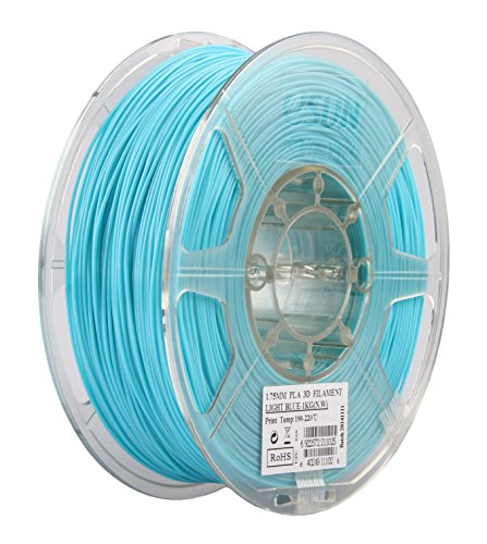 Фото нить для 3D-принтера eSUN 3D Optimized PLA+ Filament Light Blue 1.75 мм