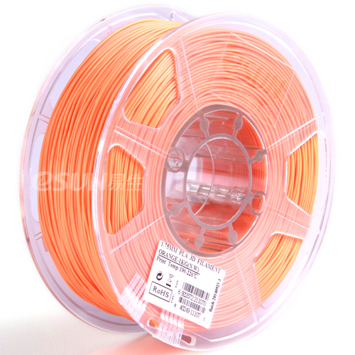 Фото нить для 3D-принтера eSUN 3D Optimized PLA+ Filament Orange 1.75 мм