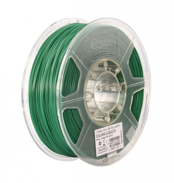 Фото нить для 3D-принтера eSUN 3D Optimized PLA+ Filament Pine Green 1.75 мм