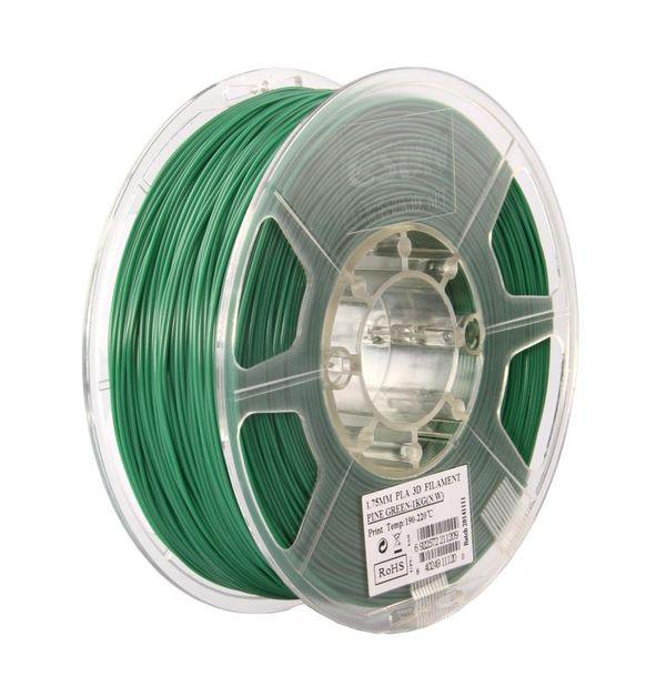 Фото нить для 3D-принтера eSUN 3D Optimized PLA+ Filament Pine Green 3.00 мм