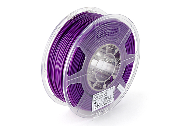 Фото нить для 3D-принтера eSUN 3D Optimized PLA+ Filament Purple 1.75 мм