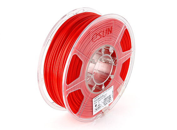 Фото нить для 3D-принтера eSUN 3D Optimized PLA+ Filament Red 3.00 мм