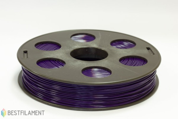 Фото нить для 3D-принтера Фиолетовый ABS пластик Bestfilament 0.5 кг, 1.75 мм