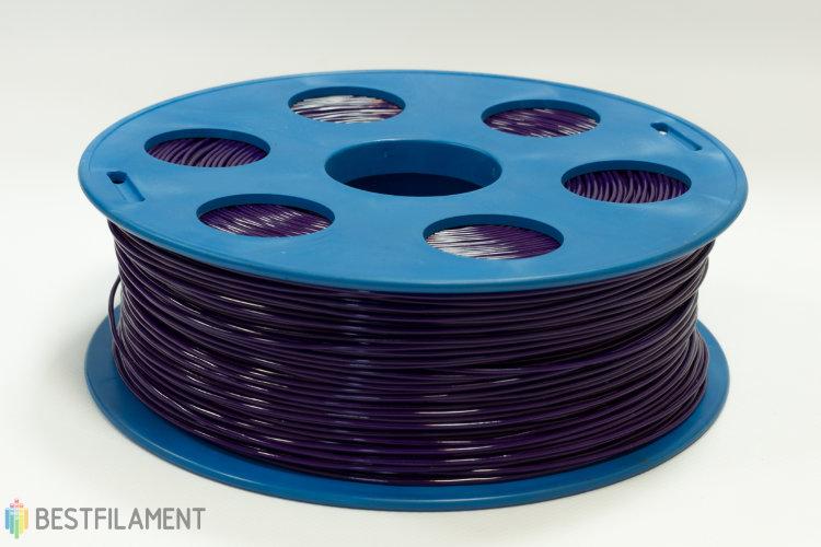 Фото нить для 3D-принтера Фиолетовый ABS пластик Bestfilament 1 кг, 1.75 мм