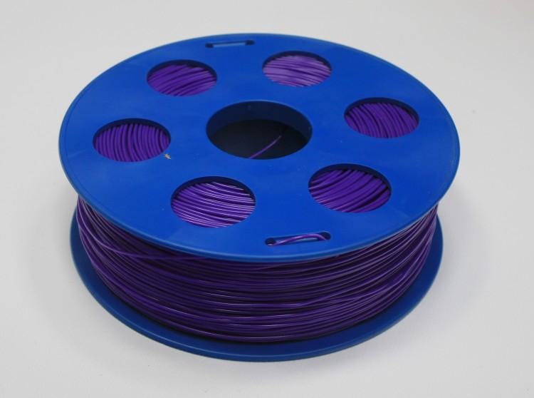 Фото нить для 3D-принтера Фиолетовый PLA пластик Bestfilament 1 кг, 1.75 мм
