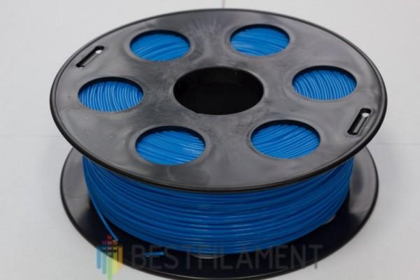 Фото нить для 3D-принтера Голубой PLA пластик Bestfilament 1 кг, 1.75 мм