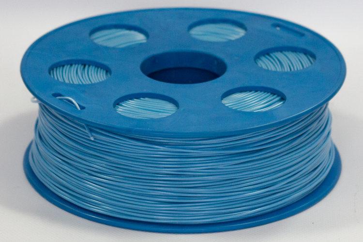 Фото нить для 3D-принтера Голубой PLA пластик Bestfilament 2.5 кг, 1.75 мм