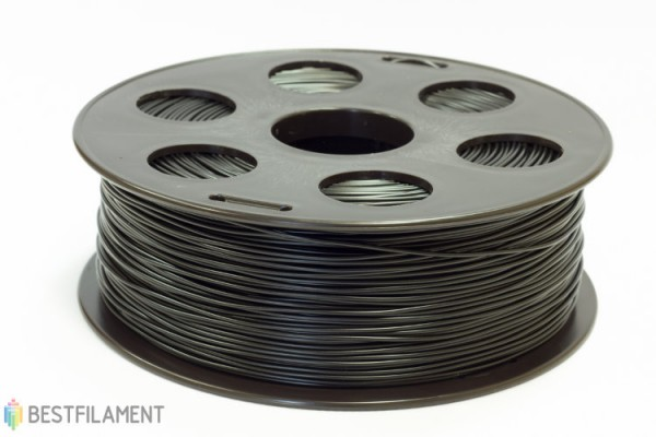 Фото нить для 3D-принтера HIPS пластик Bestfilament 1.75 мм, 1 кг, Черный