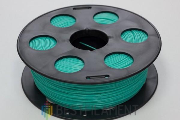 Фото нить для 3D-принтера Изумрудный PLA пластик Bestfilament 1 кг, 2.85 мм