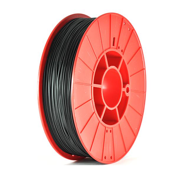 Фото нить для 3D-принтера KAUCHUK ELASTIK пластик PrintProduct черный
